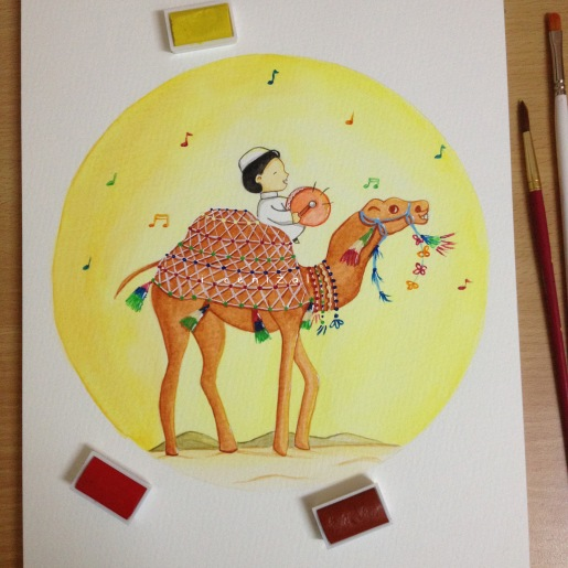 camel painting 2
