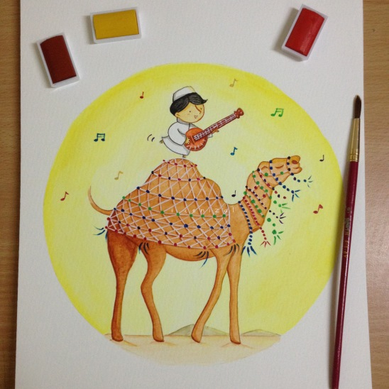 camel painting