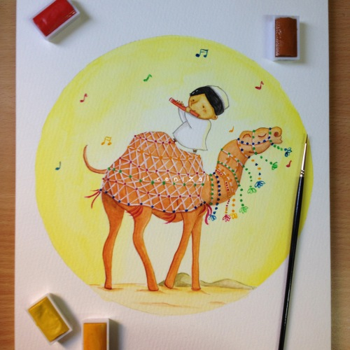camel painting 3